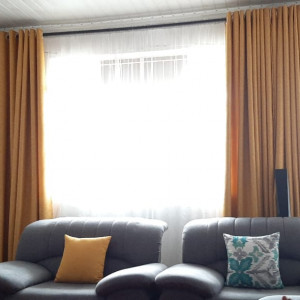 Mustard Yellow heavy curtains